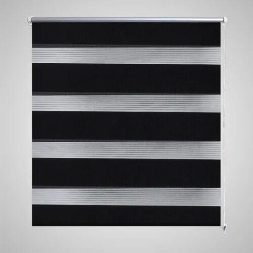 vidaXL Duo rolgordijn 100 x 175 cm zwart