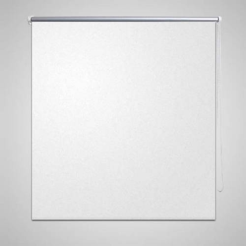vidaXL Rolgordijn verduisterend 40 x 100 cm wit