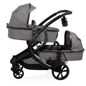 Baninni Tweeling kinder-/wandelwagen Doppy grijs BNST030-GY