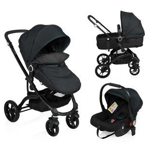 Little World 3-in-1 Kinderwagen City Walker zwart LWST003-BK