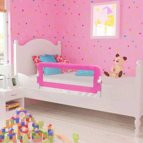 vidaXL Kinderbedhekjes 2 st 102x42 cm roze