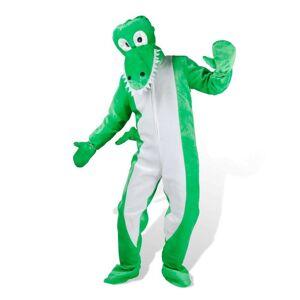 vidaXL Carnavalspak krokodil M-L