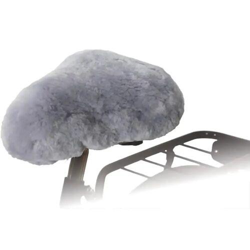 Willex Fietszadelhoes schapenvacht grijs 30135