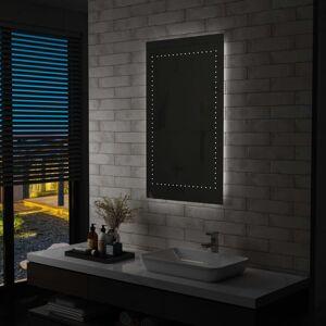 vidaXL Badkamerspiegel LED 60x100 cm