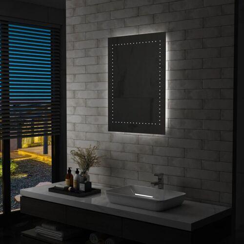 vidaXL Badkamerspiegel LED 60x80 cm