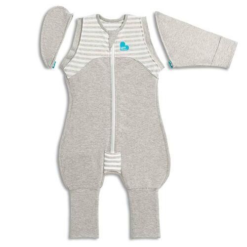 Love to Dream Babydoek Swaddle Up Transition Suit fase 2 M grijs