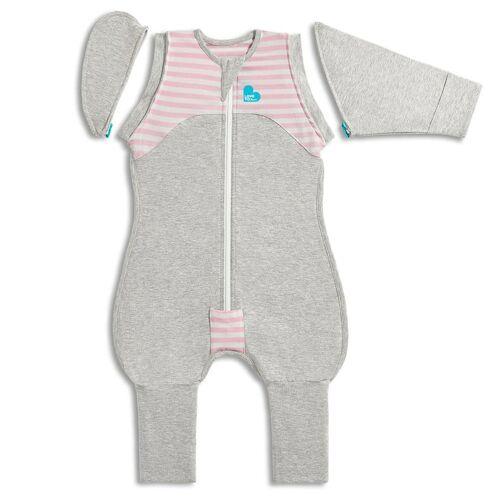 Love to Dream Babydoek Swaddle Up Transition Suit fase 2 XL roze