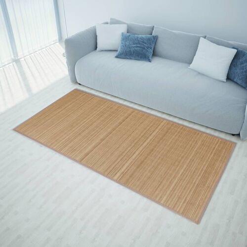 vidaXL Bamboemat rechthoekig 120 x 180 cm (bruin)