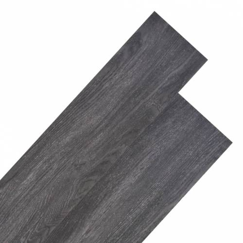 vidaXL Vloerplanken 5,26 m² 2 mm PVC zwart en wit