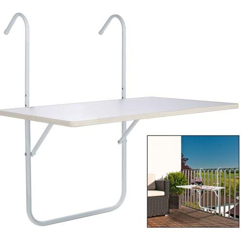 HI Balkontafel inklapbaar 60x40x1,2 cm wit