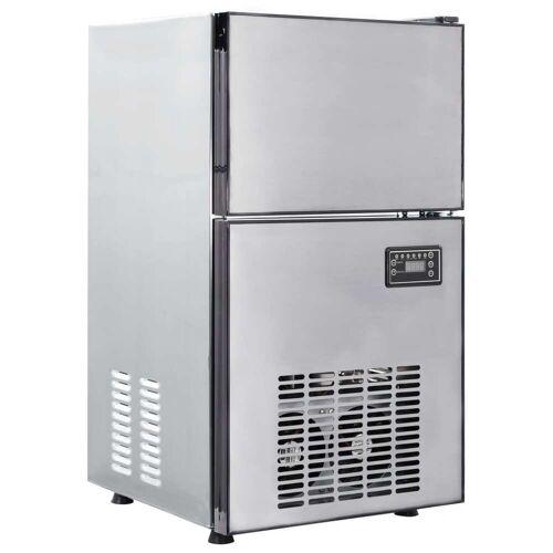 vidaXL IJsblokjesmachine 420 W 50 kg/24 u