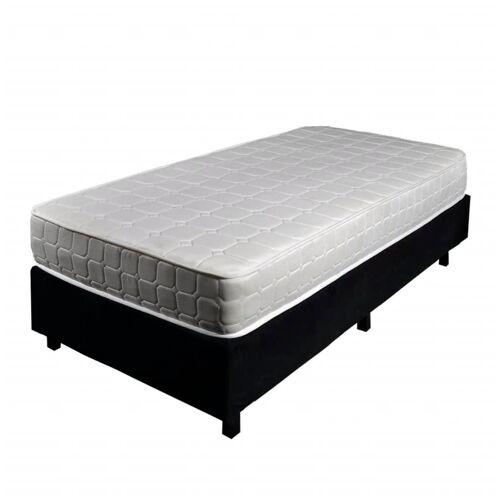 vidaXL Boxspring bed 90 x 200 cm