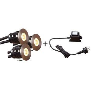 HEISSNER 3-delige Starterspotlightset 1 W
