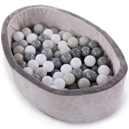 Bo Jungle 430983  B-Ball Ballenbak met 120 ballen grijs