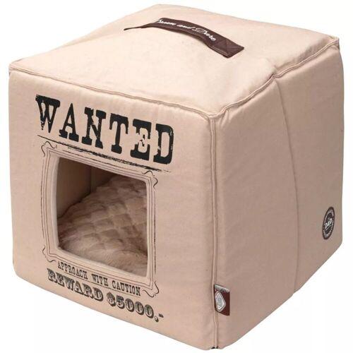 D&D D&D Huisdierenbed Wanted 40x40x40 cm beige 671/432310