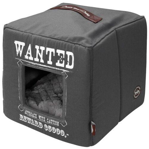 D&D D&D Huisdierenbed Wanted 40x40x40 cm grijs 671/432327