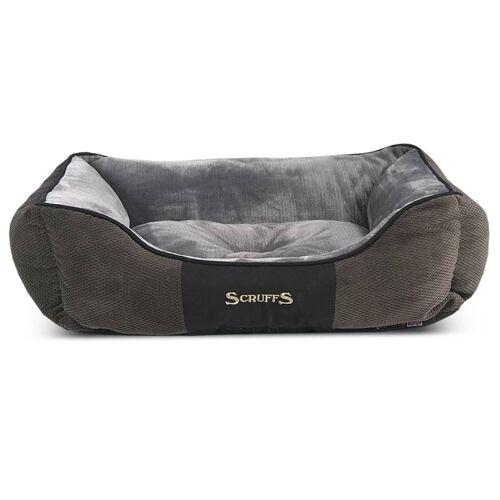 Scruffs & Tramps Huisdierenbed Chester maat XL 90x70 cm grijs 1169