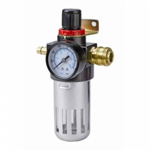 """Einhell Filter/drukregelaar R 1/4"""" voor luchtcompressor"""