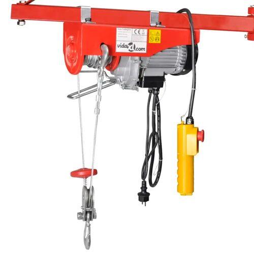 vidaXL Elektrische lier 500 W 100/200 kg