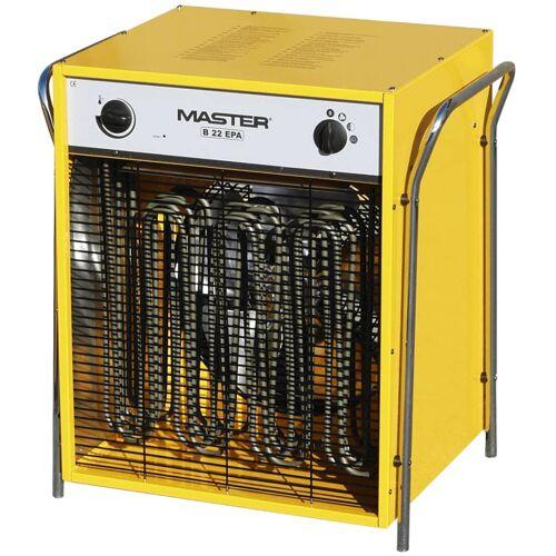 Master Elektrische ventilator verwarming B22EPB 2400 m³/u