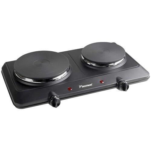 Bestron Kookplaat dubbel AHP250D 2250 W