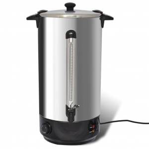 vidaXL Water/glühwein koker 25L