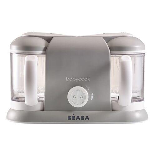 Beaba Babyvoeding keukenmachine 4-in-1 Babycook Duo 2200 ml grijs