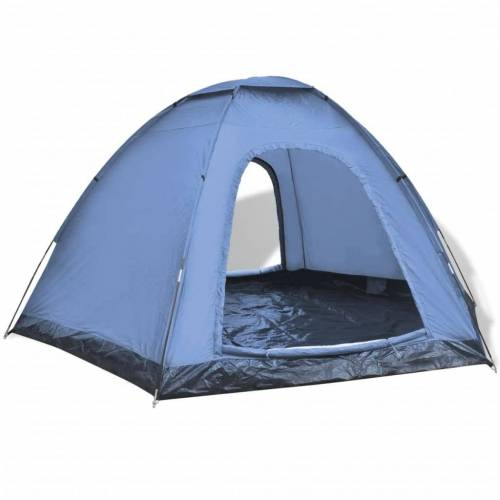 vidaXL Tent 6-persoons blauw