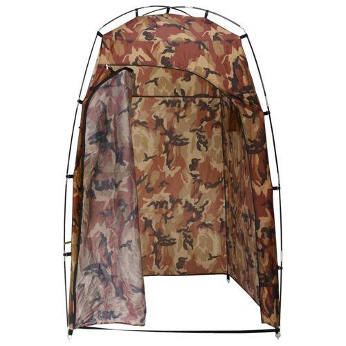 vidaXL Douche-/wc-/omkleedtent camouflage