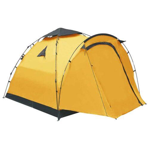 vidaXL Tent pop-up 3-persoons geel