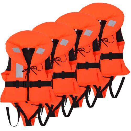 vidaXL Kinderzwemvesten 100 N 10-20 kg 4 stuks
