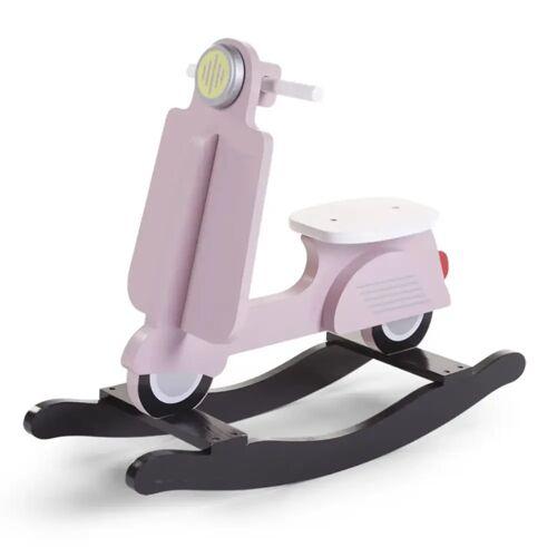 CHILDWOOD Hobbelscooter roze en zwart CWRSP