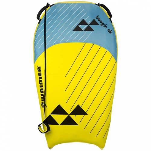Waimea Bodyboard opblaasbaar Boogie Air PVC geel en blauw 52WF-GEB-Uni