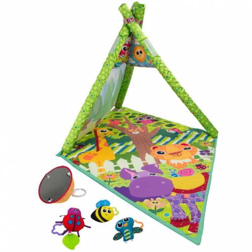 Lamaze Babyspeelmat 4-in-1 dieren
