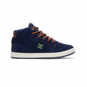 DC CRISIS HIGH WINTER BOYS SHOE Dark Navy - 35