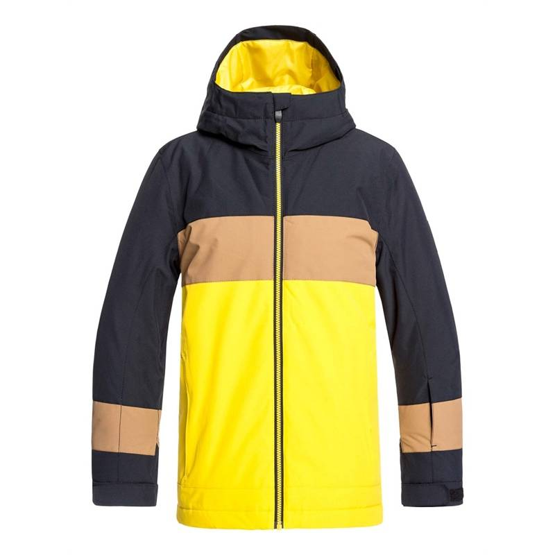 QUIKSILVER SYCAMORE YOUTH JKT BLACK - S/8år