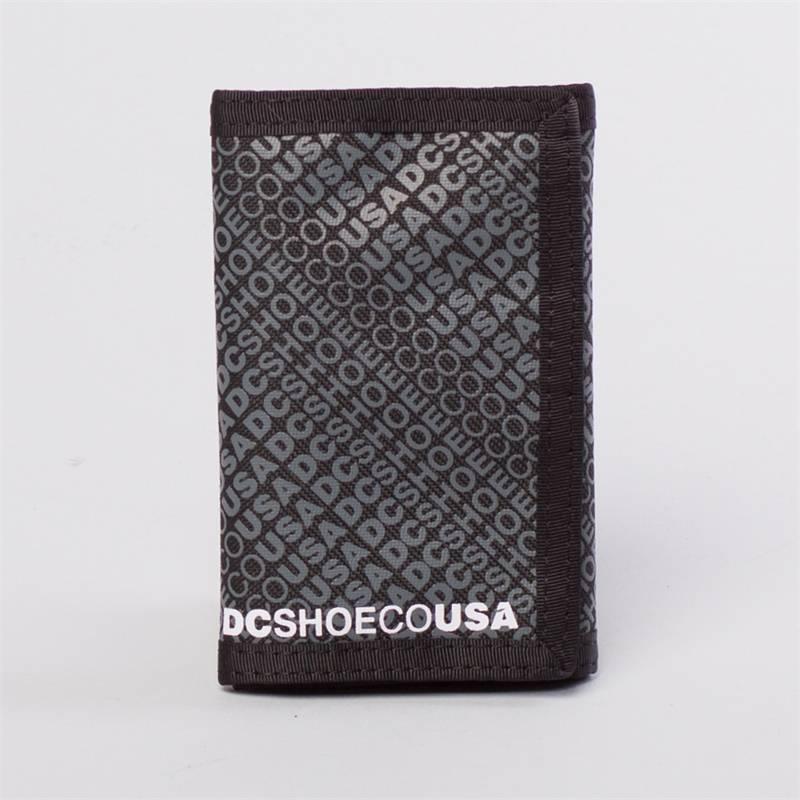 DC RIPSTOP 5 WALLET Black - One size