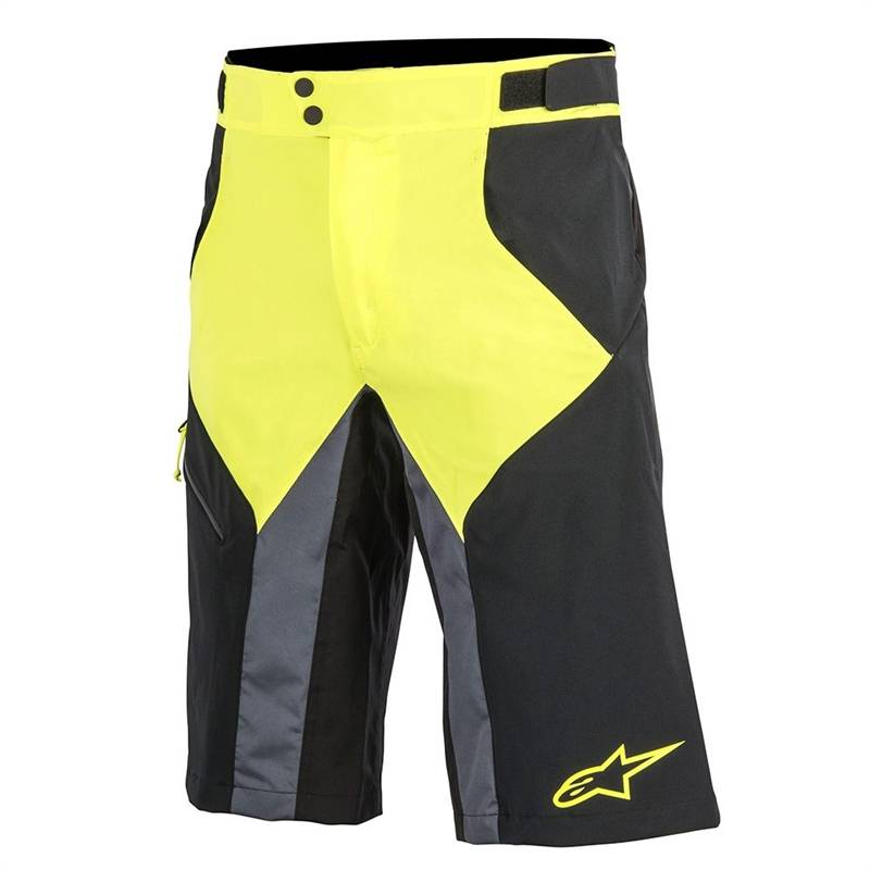 Alpinestars OUTRIDER WR BASE SHORT Black/Yellow - 36