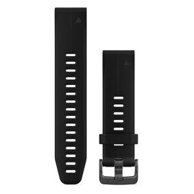 GARMIN QuickFit 20 Silikon Normal - Klokkereim - Svart