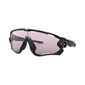 Oakley Jawbreaker Polished Black - Sportsbriller - Prizm Low Light