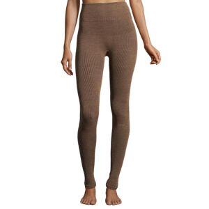 Casall Wool Rib -  - Tights - Black/Beige - M