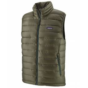 Patagonia M's Down Sweater - Vest - Industrial Green - L
