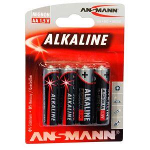 ANSMANN Alkaline 4-pack AA - Batteri