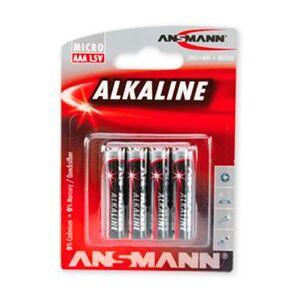 ANSMANN Alkaline 4-pack AAA - Batteri