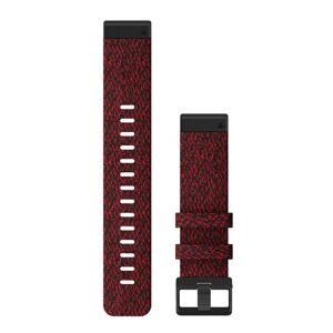 GARMIN QuickFit 22 Nylon - Klokkereim - Rød