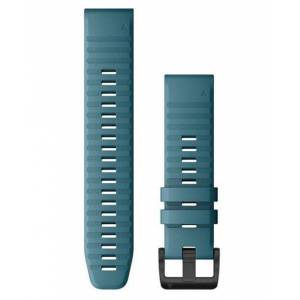 GARMIN QuickFit 22 Silikon - Klokkereim - Havblå