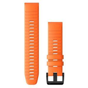 GARMIN QuickFit 22 Silikon - Klokkereim - Oransje