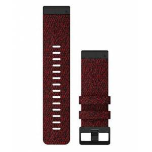 GARMIN Quickfit 26 Nylon - Klokkereim - Rød