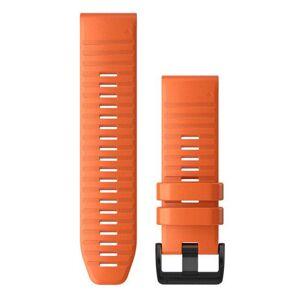GARMIN Quickfit 26 Silikon - Klokkereim - Oransje