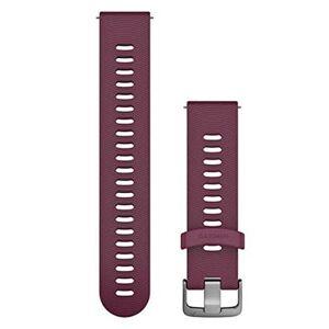 GARMIN Quick Release 20 Silikon Steel - Klokkereim - Lilla